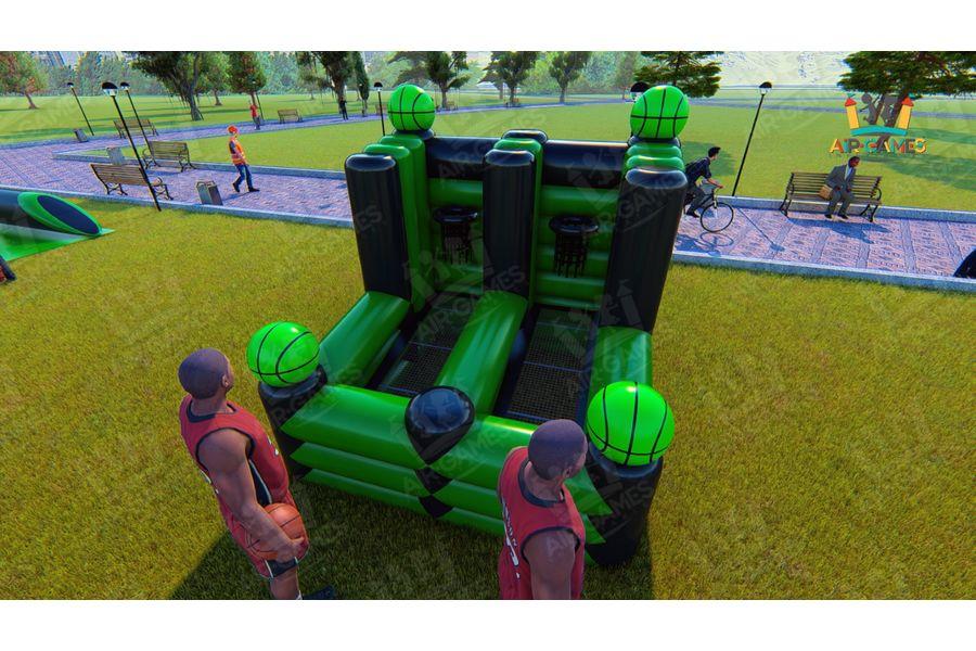 Футбольное поле надувное с воротами для тимбилдинга [CLONE] [CLONE] от компании Air-Games за 74580 руб.