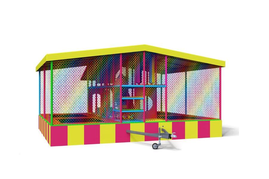 Мобильный лабиринт Дом Троллей 6м от компании Air-Games за 1090000 руб.
