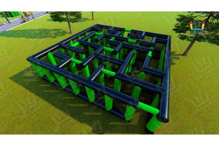 Футбольное поле надувное с воротами для тимбилдинга [CLONE] от компании Air-Games за 450120 руб.